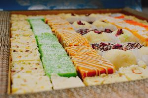 Indian sweets from Poonams
