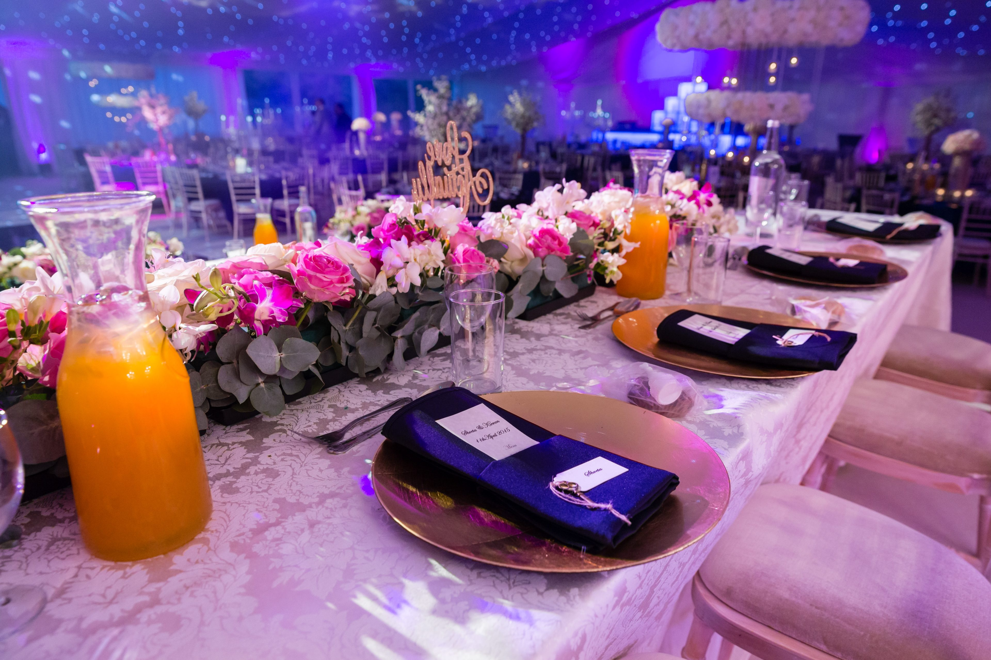 Table Setting from Poonams